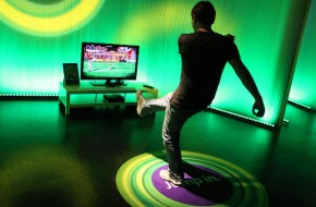 Gamescom Cologen trade fair - Microsoft Xbox 360 with Kinect